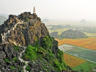 Ninh Binh - Tam Coc - Mua Cave - Bich Dong Pagoda 2 Day Tour from Hanoi (Private tour)