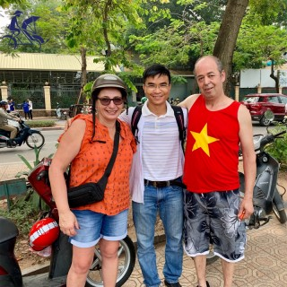 Hanoi half-day on-back of motorbike tour with street food (4 hours) - Private tour